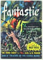 Fantastic Science Fiction Pulp Magazine Mar-Apr 1953 Digest Billy Rose