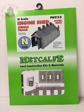 Metcalfe PN932  Single Track Engine Shed - Stone - N Gauge
