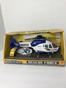 Tonka Rescue Force Helicopter Police Blue TK532 Lights & Sounds 12 inch 2015