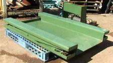 """Floor Level Low-Profile Zero Pallet Jack Scissor Lift ZLLPF3860M 40"""" rise 60long"""