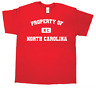 (+MORE COLORS) Property of North Carolina Men's T-Shirt NC USA Charlotte Raleigh