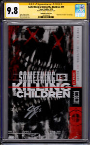 Something Is Killing The Children #11! Simmonds Variant! Signed by James Tynion!