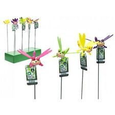 Happy Dragonfly W/moving Wings On Stake W/hangtag.24pdq