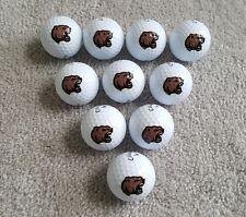 Ten (10) Brand New Callaway Hershey Bears Logo Golf Balls, AHL 3rd Jersey