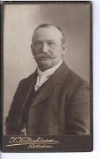 CDV Foto Herrenportrait - Züllichau Sulechów 1910er