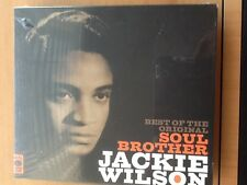 JACKIE. WILSON.      2 CDs.      BEST. OF. THE.  ORIGINAL. SOUL. BROTHER.