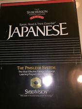Learn to Japanese The Syber Vision Foreign Language Series Cassettes