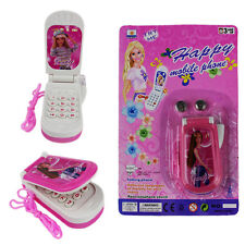 Kid boy girl toddler Baby Educational Toy barbie Music light Mobile cell Phone