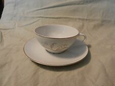 Vintage 1961 Kaysons Fine China Golden Rhapsody Cup and Saucer Japan (M)
