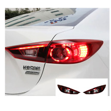 LED Tail Lights For Mazda 3 2014-2018 Sequential Signal Smoke/Red Replace OEM