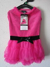 ZACK & ZOEY hot PINK tulle DOG DRESS MEDIUM clothing clothes nwt