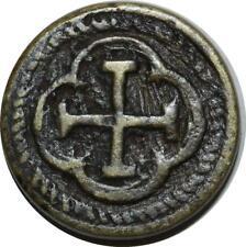 O1176 Rare LOUIS XIII Poids monétaire Louis d'or XIII à partir de 1640 ->FO
