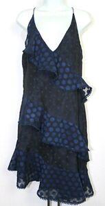 KEEPSAKE Strappy ruffle detail dress, Womens dress size Large