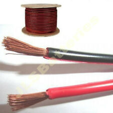 100m Reel Red/black Electrical Cable Car Home Wire 15a Meter 45/0.2mm 15 Amp