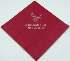 200 Personalized luncheon napkins custom printed wedding napkins party favors