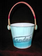 Lipper & Mann Creations Japan Trick or Treat CANDIES Bucket w Swing Handle 1950s