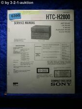 Sony Service Manual HTC H2800 CD Deck (#6390)