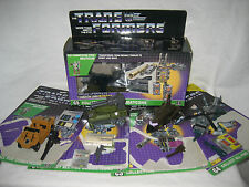 G1 vintage BRUTICUS 100% complete Combaticons SET Hasbro Transformers Onslaught+