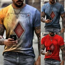 Tees Tops Sport T-Shirt Clothes Polyester Printed Short Sleeve Fashion