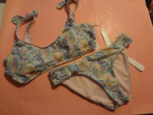 Antonio Melani  SEXY SWIM  Bikini  2 piece FLORAL size 14 top /14 bottom NWT