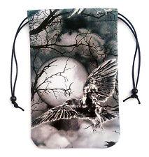 "Raven Sky 1 Tarot Bag 5""x7"" Runes Dice Drawstring Pouch Pendulum Crystals"