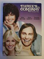 Three's Company: Season Two (DVD, 2004, 4-Disc Set) John Ritter, Suzanne Somers