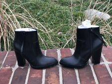 Nasty gal shoe cult black ankle boots size 38.5/8 new without box