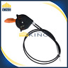 Throttle Choke Cable Control Assembly Fits JOHN DEERE  AM140333 X 300 500 Series