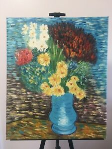 Oil Painting Original Unframed On Stretched Canvas 19.5 inch x 23.5 inch