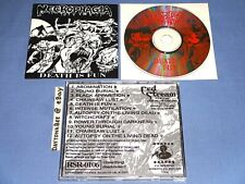 Necrophagia Death is Fun 1994 CD Original Release Pantera Down Sigh Numb&Number