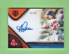 ANDREW BENINTENDI AUTOGRAPH 2017 TOPPS TRIBUTE Signed  ON CARD AUTO RC #d 1/25