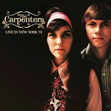 CARPENTERS-LIVE IN NEW YORK 1971-IMPORT CD WITH JAPAN OBI BONUS TRACK