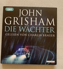 Hörbuch Die Wächter von John Grisham Thriller MP3 CD