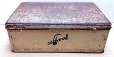 65947 Scatola di latta vintage - cioccolattini CAFFAREL Torino- cm 34 x 23 x 12h