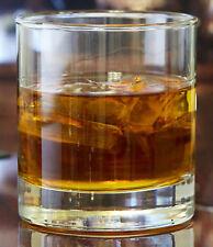 Crisa Heavy Base Whiskey Glasses - Set of 6, 8 oz, Old Fashioned/Rocks Tumblers