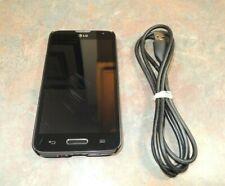 LG Optimus L70 4GB Black Cricket Smartphone USB Bundle Unlocked Optimus L 70