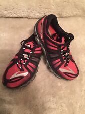 BROOKS PUREFLOW 4 MENS RED/BLACK  RUNNING SNEAKERS  SZ 8.5 SHOES.