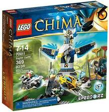 NEW LEGO CHIMA Eagles' Castle 70011 Chi Battle Speedorz Ewald Eagle + Game Cards