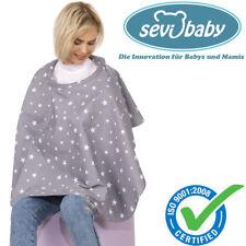 Sevibaby Baby GRAU Abdecktuch Stilltuch Stillschürze Stillcape Stillponcho 6280