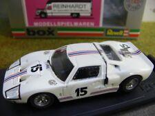 1/43 Box Ford GT 40 Le Mans 66 #15 8456