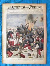 La Domenica del Corriere 14 febbraio 1915 WW1 Guerra moderna-Abruzzo-Napoli