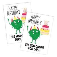 LOCKDOWN NON PERSONALISED HAPPY BIRTHDAY CARD GREEN GERM BOYS GIRLS