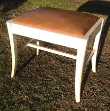 VINTAGE STOOL DRESSING TABLE STOOL BOUDOIR STOOL