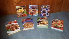 Kochbücher Set 7-teilig, Suppe, Pasta, Wok, Grill, kochen backen Küche