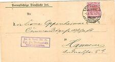 Ungeprüfte Einzelfrankatur Dienstmarken aus dem deutschen Reich