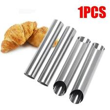 Steel Cannoli Form Cream Tubes Shell Horn Mould Tool Baking Mold Z1U3