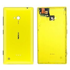 TOTTA Replacement Battery Back Panel Cover For  Nokia Lumia 720 - YELLOW