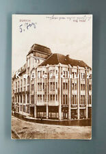 Ansichtskarte ZÜRICH CITY HOTEL um 1926
