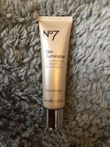 No7 Boots Skin Illuminator Nude 30ml Hypo-Allergenic Natural Look New & Sealed