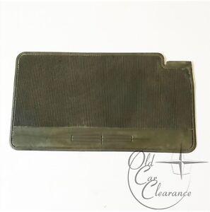 1961-1969 Lincoln Continental Carpet Heel Pad, Tan-Green